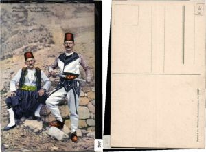Albanesische Nationaltracht Tracht Purger Co 10357 Albanien
