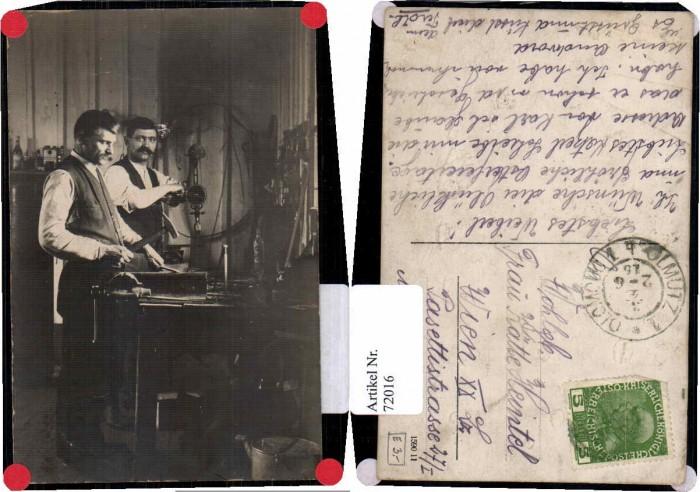 72016,FotoAK Schlosser aus Olmütz Olomouc 1915