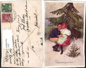 1335,Weihnachten Tschechische Trachten K. Simunek
