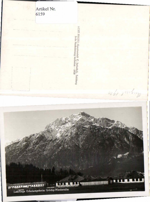 6159,Grödig Niederalm Lehrlingsheim 1930