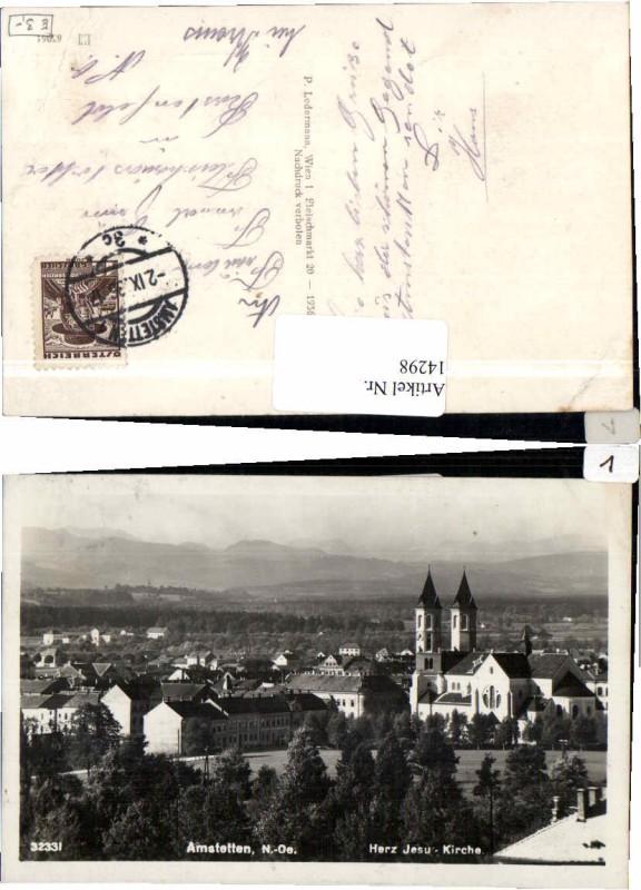 14298,Amstetten Herz Jesu Kirche Ledermann 32331