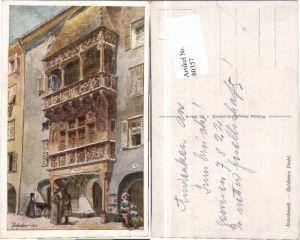 80357,E.F. Hofecker Innsbruck Goldenes Dachl