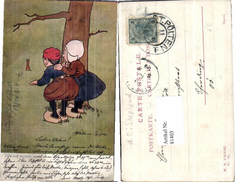 81403,M. Munk Vienne 185 G.E. Shepheard Kinder Hase