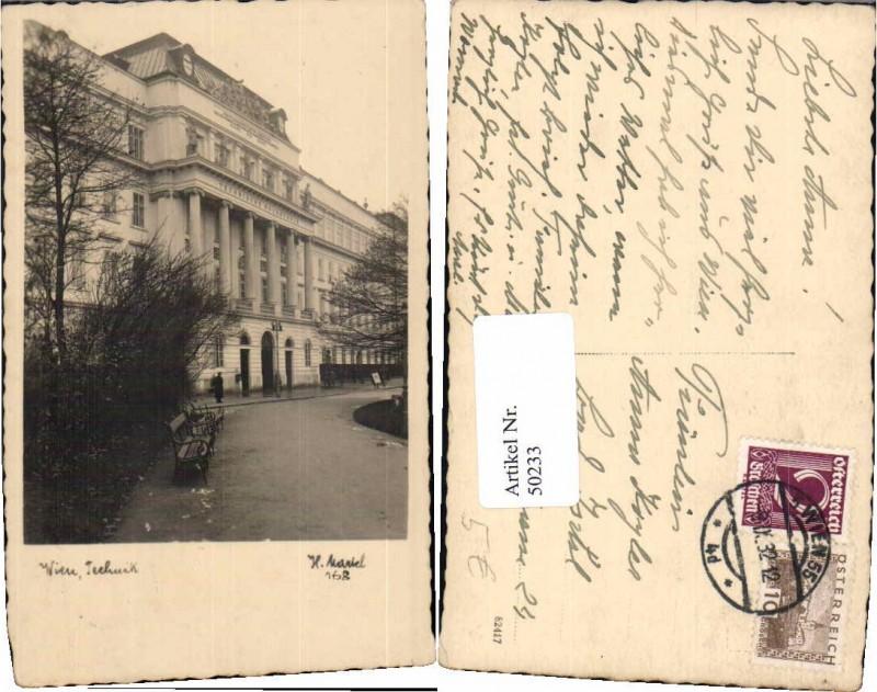 50233,Wien Technik Fotokarte pub Martel H. 168