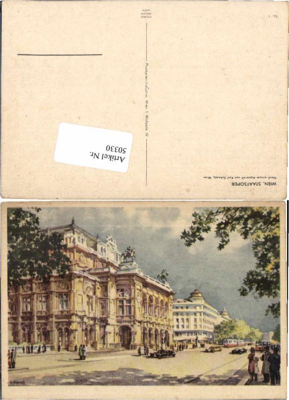 50330,Karl Schwetz Wien Staatsoper