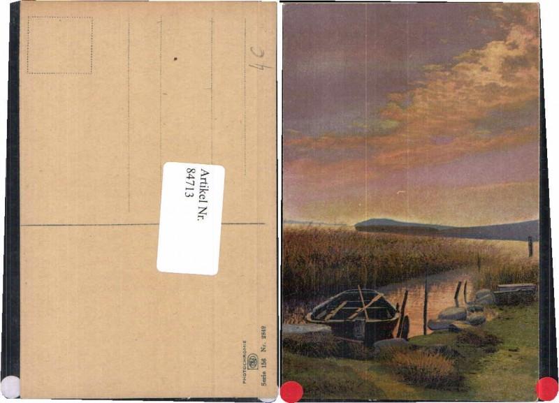 84713,Photochromie Ser. 156-2849 Boot am Ufer Zille