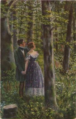PFB 6065 Deutsche Meister de Witt Bin mit dir im Wald gegangen