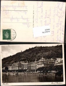 99929,Bad Ems Hotels am Ufer 1920