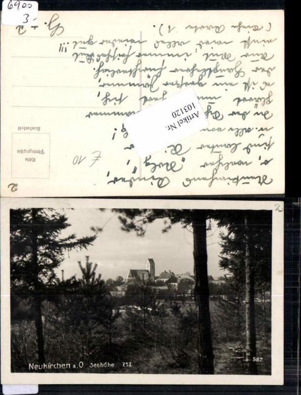 103120,Neukirchen am Ostrong Waldpartie 1940