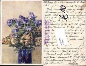 103442,Rudolf Konopa Blumen Vase B.K.W.I 984-1