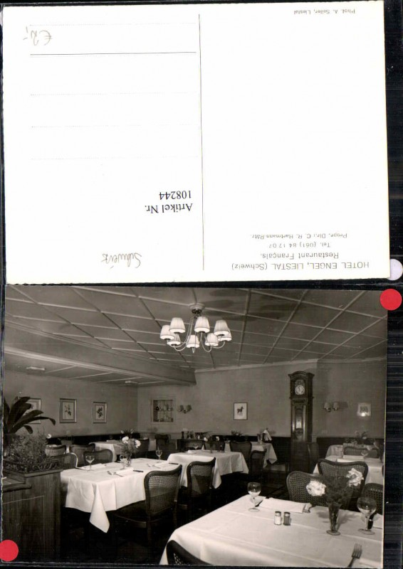 108244,Hotel Engel Liestal Restaurant Kt. Basel Land