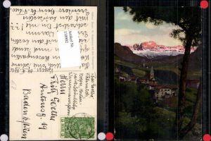 110902,Trentino Südtirol Bozen St Magdalena m. Rosengarten Dolomiten