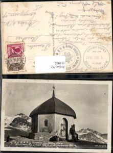 112902,Ankogel bei Mallnitz Kapelle Arnoldhöhe bahnpost 188