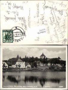 113777,Sommerfrische Ottenschlag Partie am Teich 1938
