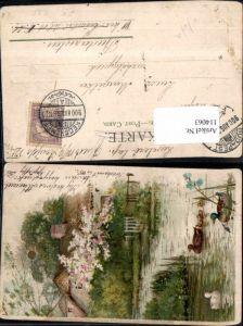 114063,Winkler & Schorn Sonnenschein Postkarte Sonne Litho ser. XIV
