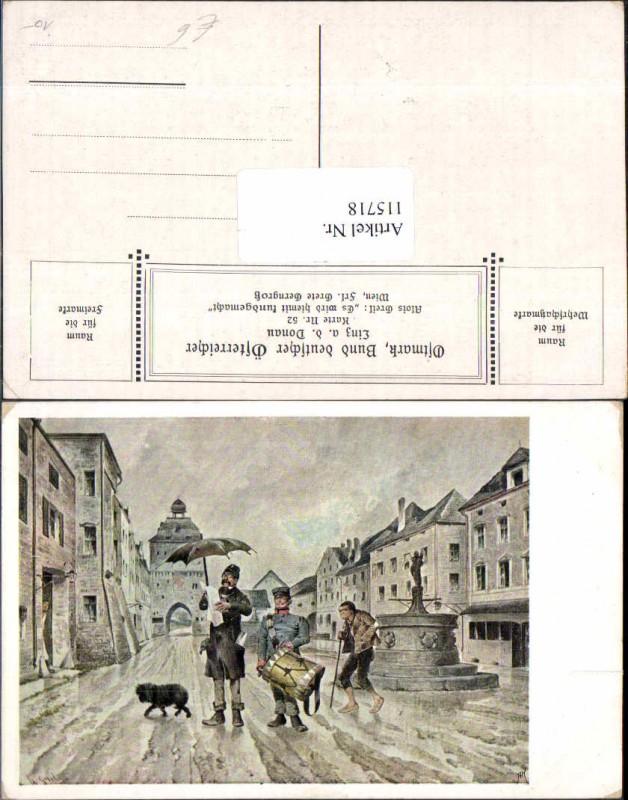 115718,Ostmark Bund deutscher Österreicher 52 Alois Greil sign. Steyr ???