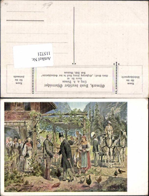 115721,Ostmark Bund deutscher Österreicher 45 Alois Greil Erzherzog Karl Gosau Gosauschmiede
