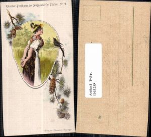 116329,Künstler Postkarte Meggendorfer Blätter 9 Josef Mukarovsky pub Schreiber Esslingen