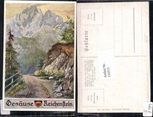 116513,Dt Schulverein 599 E.F. Hofecker Gesäuse Reichenstein Johnsbach