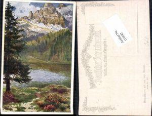 116682,Dt. Schulverein 407 Misurinasee Cadora Trentino E.F. Hofecker