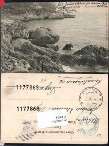 118038,Lovrana Laruan Felsenufer bei Abbazia 1905