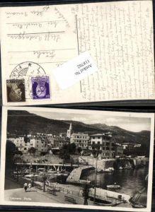 118702,Laurana Lovran bei Abbazia Hafen 1930