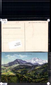 123212,Dürnberg bei Hallein m. Hohen Göll Tolle Karte Purger Co 10854