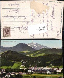 123216,Hallein m. Hohen Göll Purger Co 15235