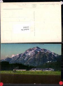 123265,Lehrlings Erholungsheim bei Grödig Niederalm m. Untersberg 1924