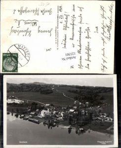 123301,seltene Fliegeraufnahme 1760 Seeham bei Mattsee Salzburg
