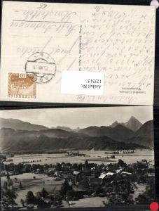 123315,FotoAK Hellbrunn Ortsansicht m. Häuser Anif 1930