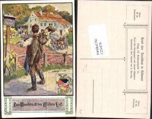 123478,Bund d. Deutschen in Böhmen 265 A. Marussig Wandern ist des Müllers Lust
