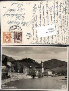 124123,Leoben Blick v.d. Murbrücke