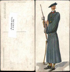 124556,Schweizer Militär Uniformen Soldat Armee Bayonette