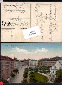 124658,Brünn Brno Stadttheater Theater Künstlerhaus Strassenansicht 1915