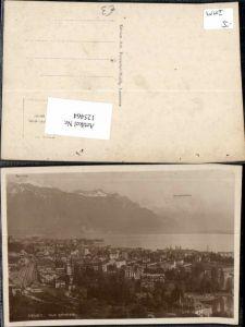 125464,Vevey Vue generale 1920