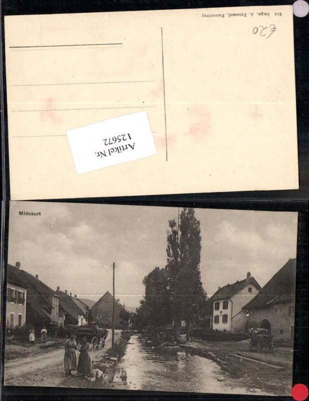 125672,Miecourt Mieschdorf La Baroche Kt Jura