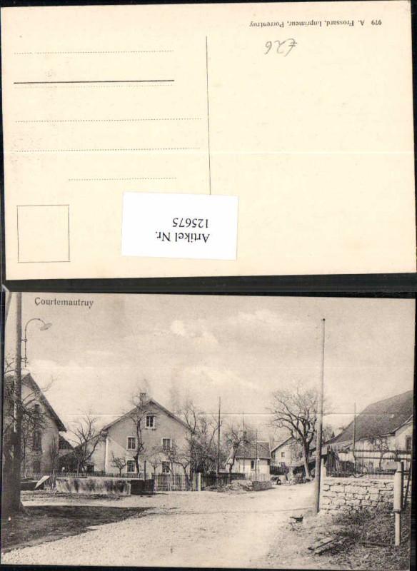 125675,Courtemautruy bei Courgenay Kt Jura