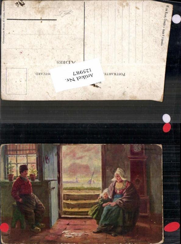 125987,J. Gerstenhauer Holländische Trachten Tracht Typen