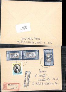 126581,Einschreiben Reco Merseburg Nr 362 nach Weil am Rhein