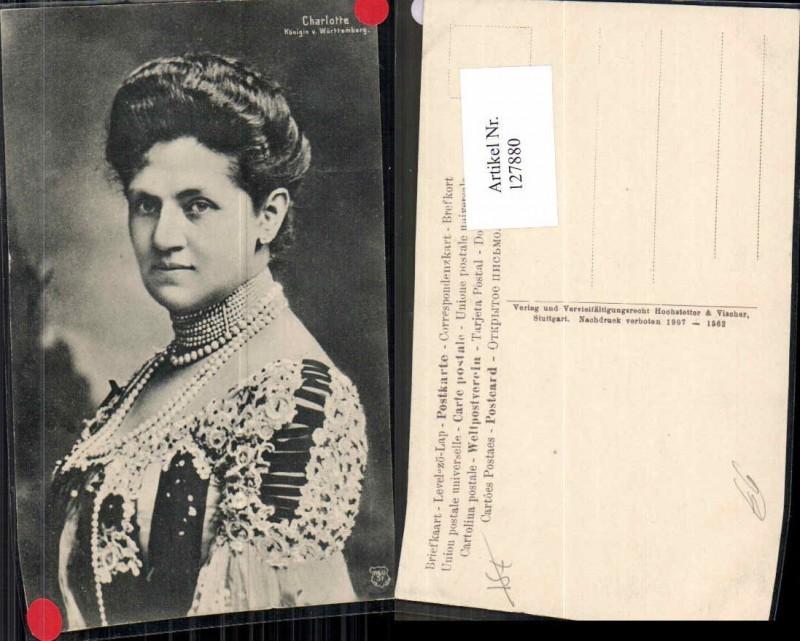 127880,Charlotte Königin von Württemberg