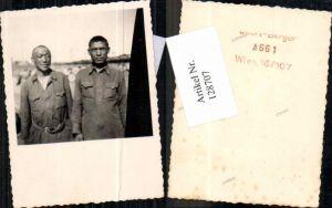 128707,Foto Wehrmacht Russland Kriegsgefangene Russen POW Mongolen Typen