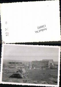 128892,Foto Wehrmacht Russland Technik Panzer im Angriff Gefecht Tank Russia