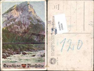 129424,Dt. Schulverein 598 Gesäuse Johnsbach Planspitze Hofecker E.F.