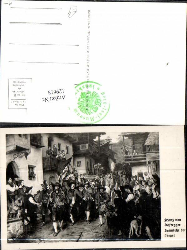129618,Andreas Hofer Tiroler Freiheitskampf Defregger Franz sign