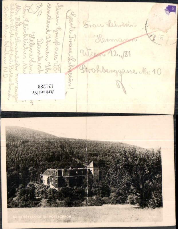 131288,Schloss Vöstenhof bei Pottschach a.d. Westbahn Ternitz