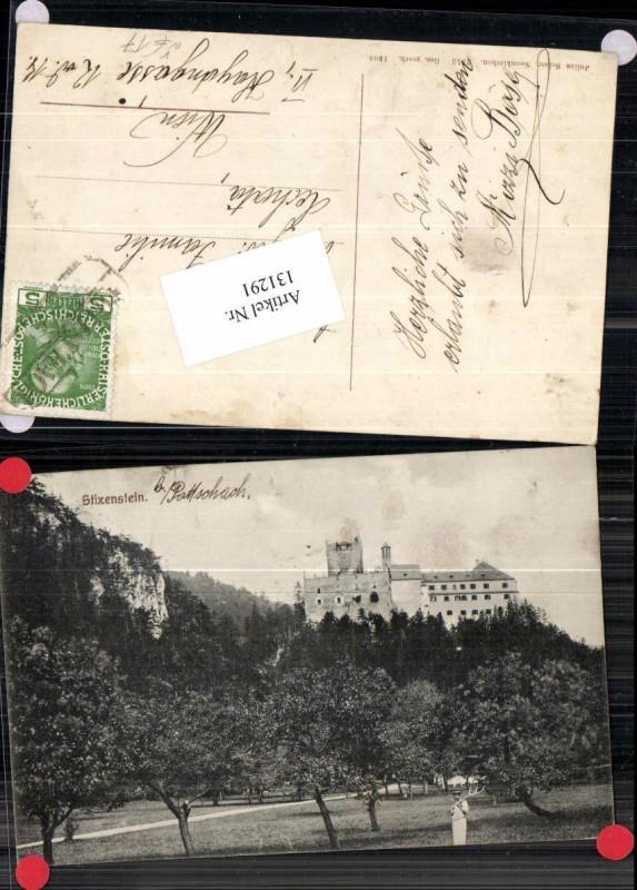 131291,Stixenstein bei Sieding Pottschach Ternitz 1908 pub Seiser Nr 2853