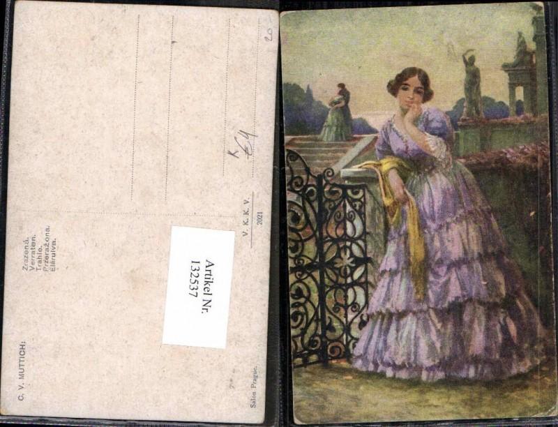 132537,C.V. Muttich Verraten Mädchen Kleid Mode