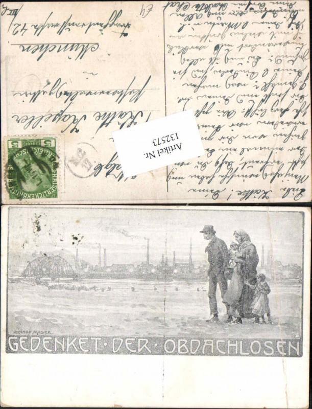132573,Richard Moser Gedenket den Obdachslosen