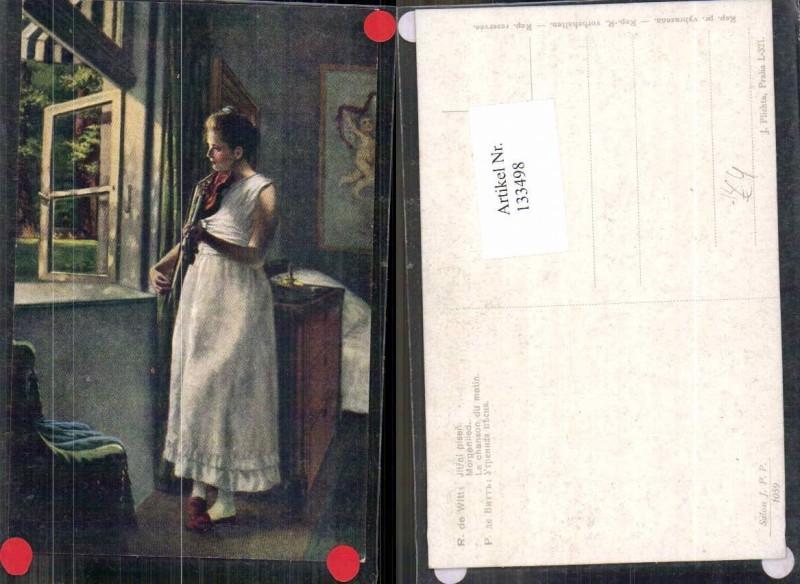 133498,R. de Witt Morgenlied Frau Geige